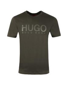 HUGO Mens Grey Dolive T Shirt