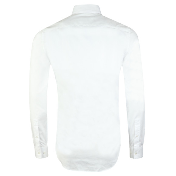Lacoste Mens White CH9623 Plain Shirt main image