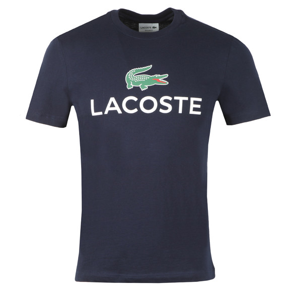 Lacoste Mens Blue S/S TH0603 Tee main image