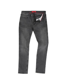 HUGO Mens Grey 734 Skinny Jean
