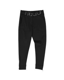 HUGO Mens Black Duros Logo Jogger
