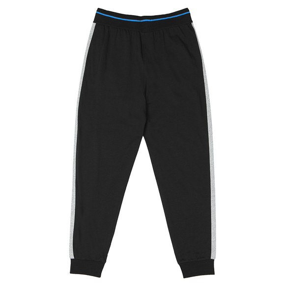 BOSS Bodywear Mens Black Side Trim Authentic Jogger main image
