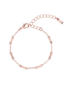 Ted Baker Womens Pink Rose Gold Faiza Bow Bracelet