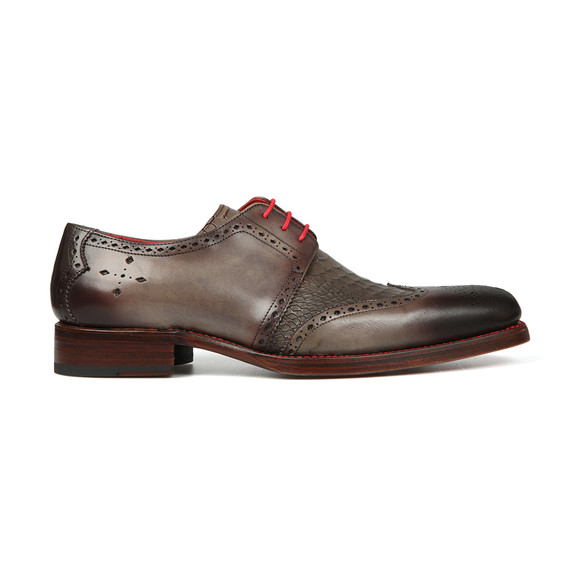 Jeffery West Mens Grey Dexter Bay Shoe