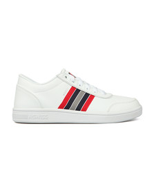 K Swiss Mens White Court Clarkson Trainer