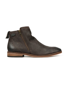 Superdry Mens Brown Trenton Zip Boot