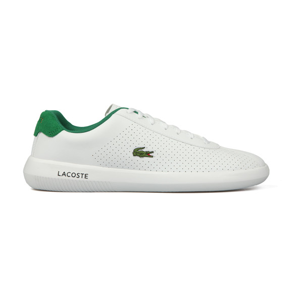 Lacoste Mens White Avance 318 1 SPM Trainer main image
