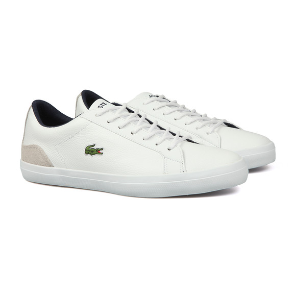 Lacoste Mens White Lerond 318 3 CAM Trainer main image