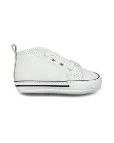Converse Unisex White Converse First Star Leather