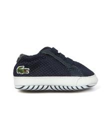 Lacoste Boys Blue L1212 Crib Shoe