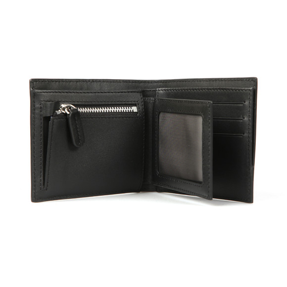 Lacoste Mens Black Removable card Holder Wallet main image