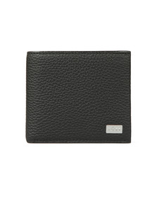 BOSS Bodywear Mens Black Crosstown Card Wallet