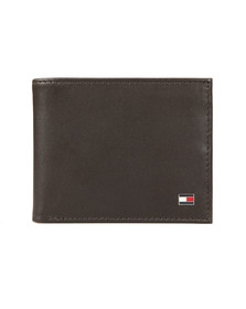Tommy Hilfiger Mens Brown Eton Mini Wallet