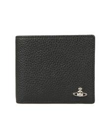 Vivienne Westwood Mens Black Milano Billfold Wallet