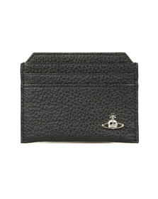 Vivienne Westwood Mens Black Milano Slim Card Holder