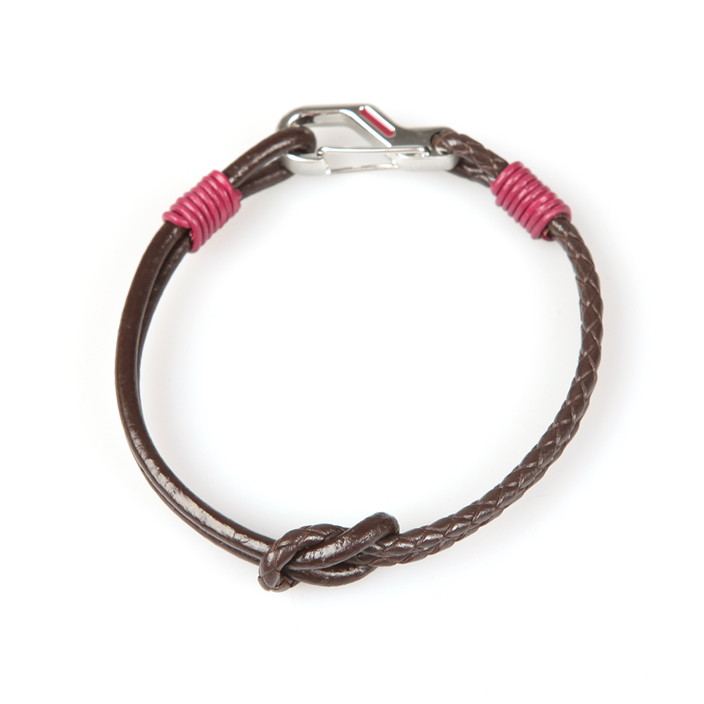 Knotted Leather Bracelet main image