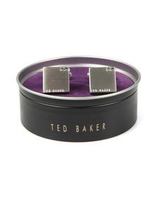 Ted Baker Mens Transparent Corner Crystal Block  Cufflink