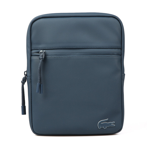 Lacoste Mens Blue M Flat Crossover Bag main image