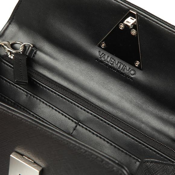 Valentino by Mario Womens Black Flash Clutch main image