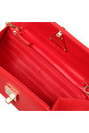 Valentino by Mario Womens Red Flash Clutch