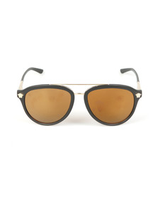 Versace Mens Black VE4341 Sunglasses