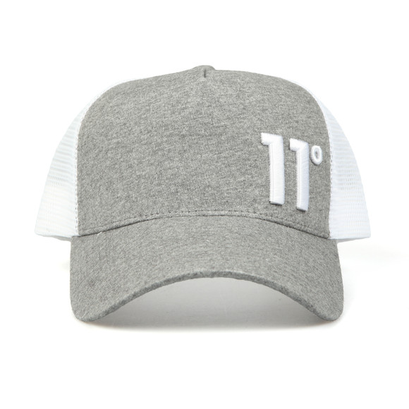 Eleven Degrees Mens Grey Trucker Cap main image