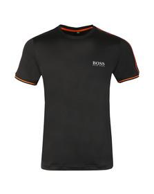 BOSS Green Mens Black Tianotech T Shirt