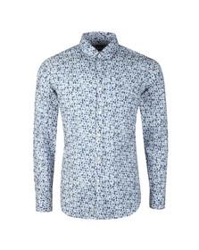 BOSS Orange Mens Blue Relegant Shirt