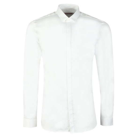 HUGO Mens White Etran Shirt