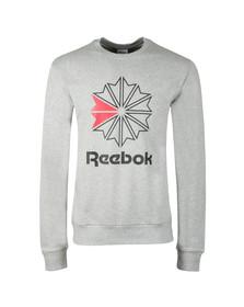 Reebok Mens Grey Starcrest Sweatshirt