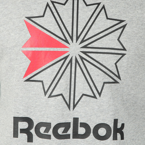 Reebok Mens Grey Starcrest Sweatshirt main image