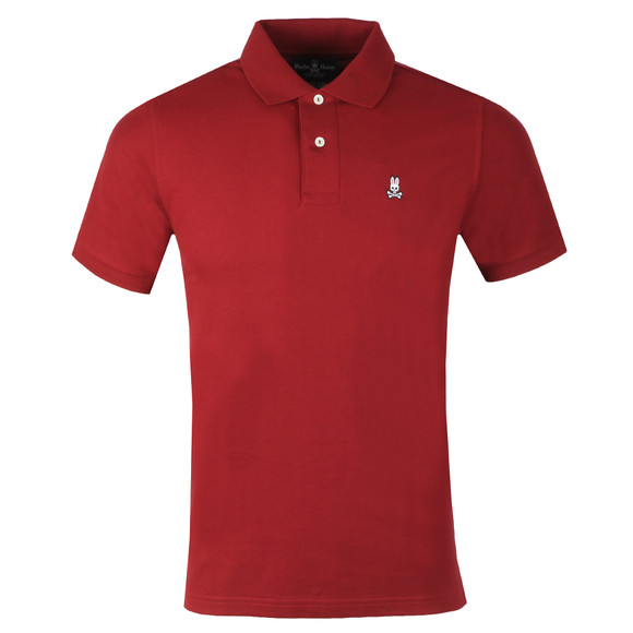 Psycho Bunny Mens Red Classic Polo Shirt main image