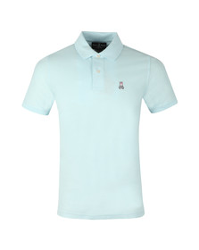 Psycho Bunny Mens Blue Classic Polo Shirt