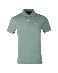 Psycho Bunny Mens Green Classic Polo Shirt