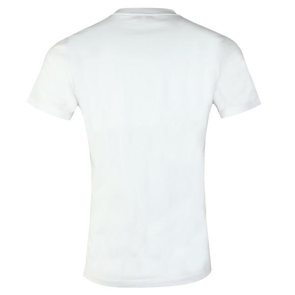 Maison Labiche Mens White Paris La Nuit Heavy T Shirt main image