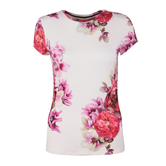 Ted Baker Womens Pink Gabreel Splendour Fitted Tee main image