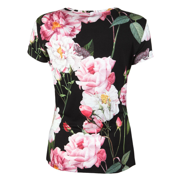 Ted Baker Womens Black Daleyza Iguazu Fitted Tee main image