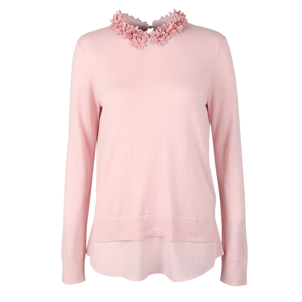 Nansea Floral Collar Mockable Jumper main image