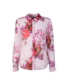 Ted Baker Womens Pink Mmarta Splendor Printed Shirt