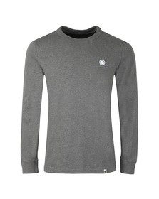 Pretty Green Mens Grey Long Sleeve T-Shirt
