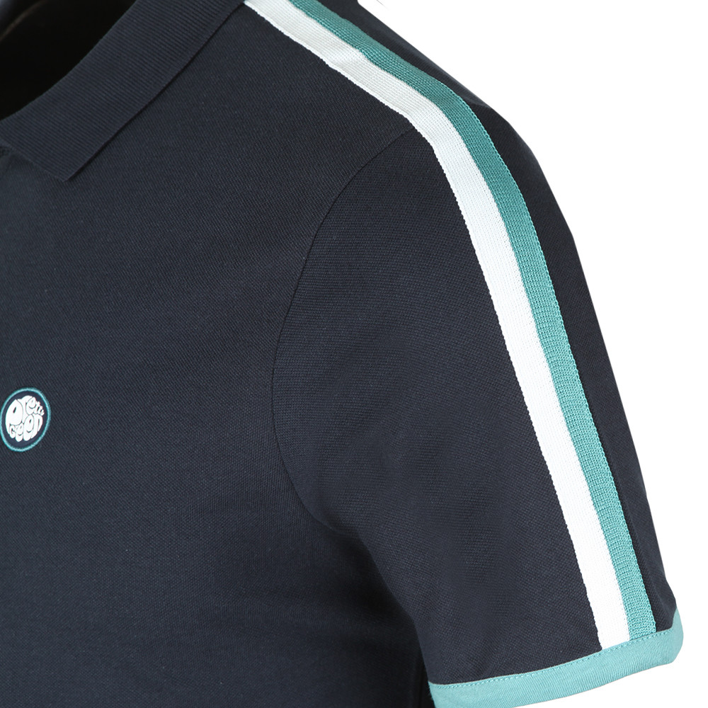 Contrast Panel Polo Shirt main image