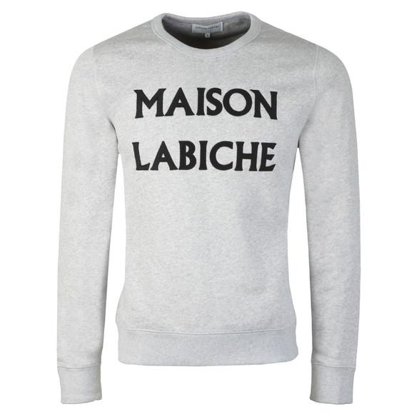 Maison Labiche Mens Grey Maison Labiche Sweatshirt main image