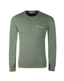 Maison Labiche Mens Green Let's  Dance Sweatshirt