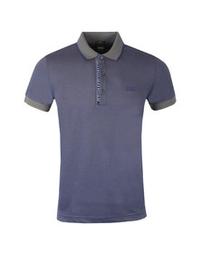 BOSS Green Mens Grey Paule 4 Polo Shirt