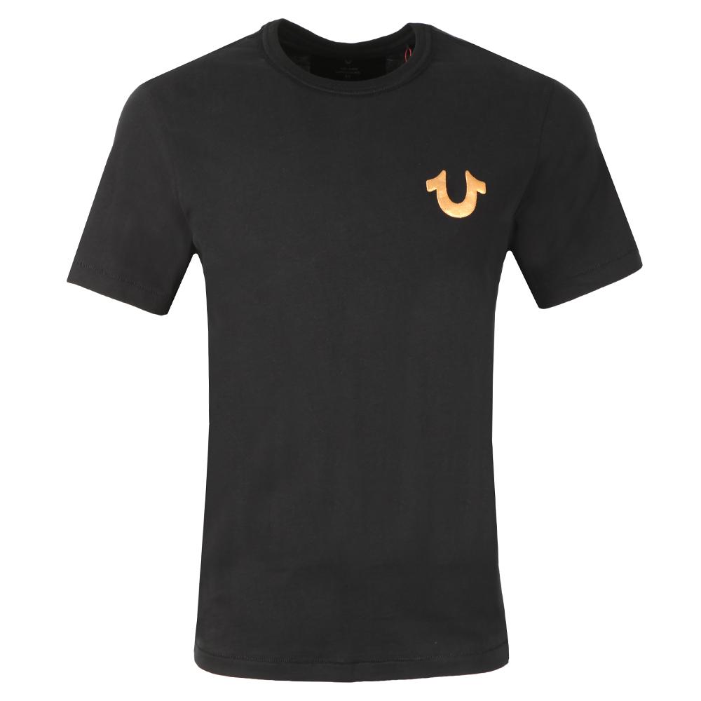 Metallic Gold Buddha T Shirt main image