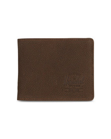 Herschel Mens Brown Roy + Tile Wallet