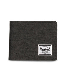 Herschel Mens Black Roy Canvas Wallet