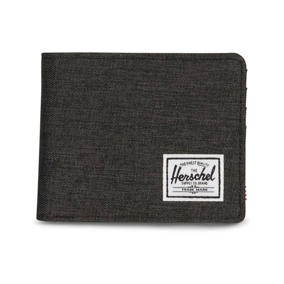 Herschel Mens Black Roy Canvas Wallet main image