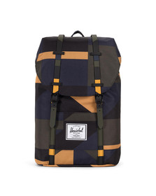 Herschel Mens Multicoloured Retreat Backpack