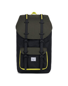 Herschel Mens Black Little America Backpack